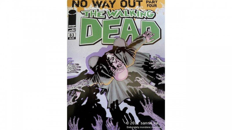 The Walking Dead #83 Review