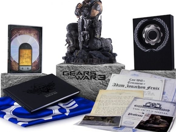 "Gear of War 3 Limited Edition writes a ""Last Will and Testement"""