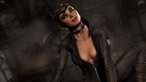 Catwoman is Arkham City's other playable character