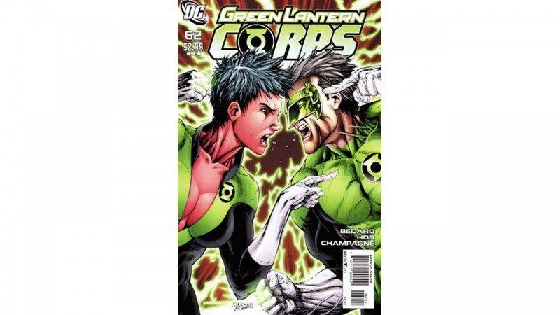 Green Lantern Corps #62 Review 2