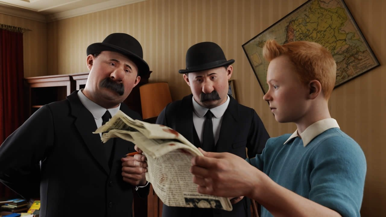 The Adventures Of Tintin (2011) Review 4