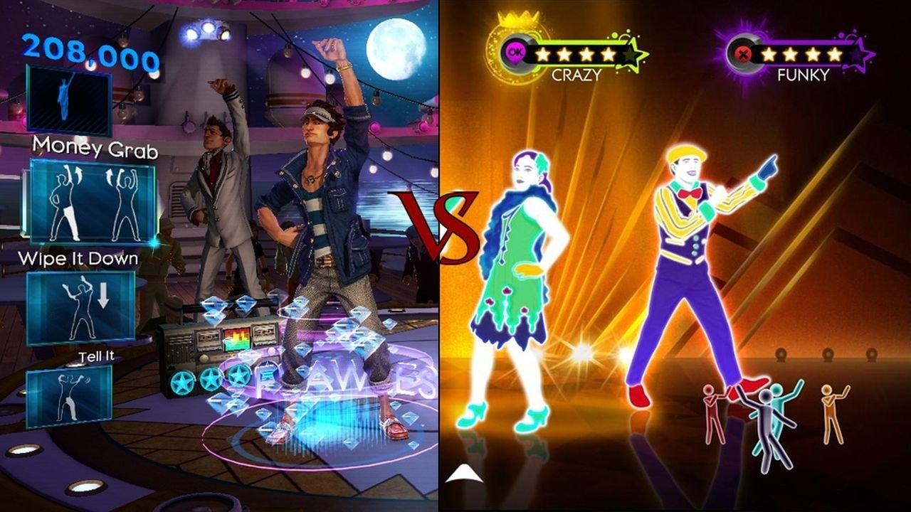 Dance Central 2 vs. Just Dance 3