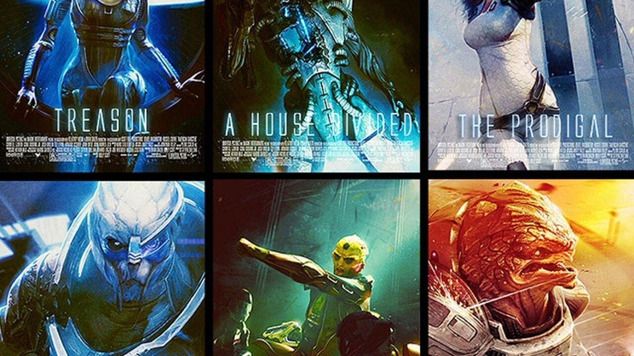 Epic Mass Effect character posters - 2012-09-27 13:19:50