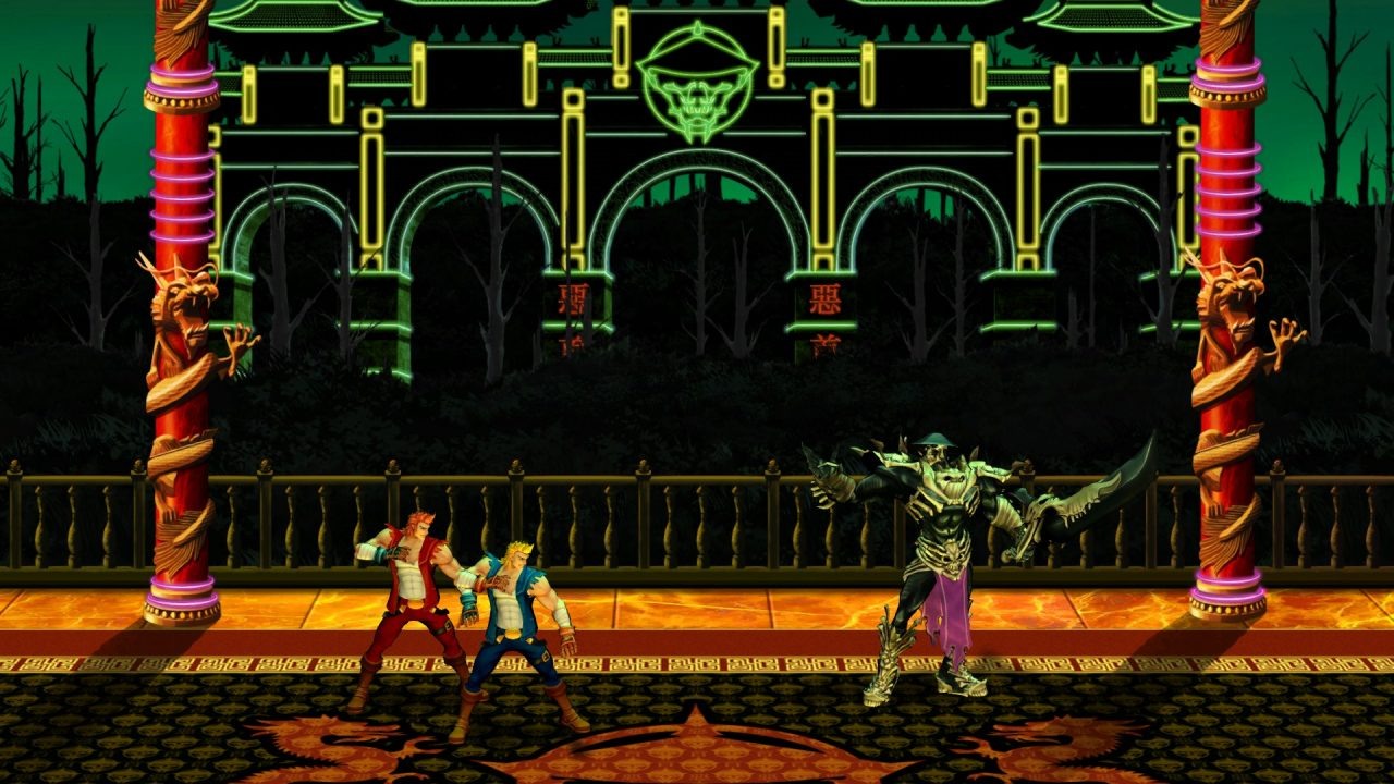 Double Dragon (Ps3) Neon 1