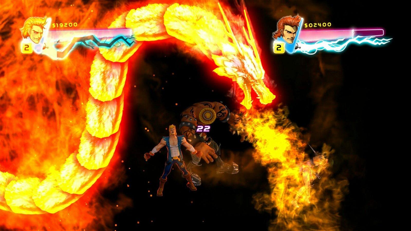 Double Dragon (Ps3) Neon 4