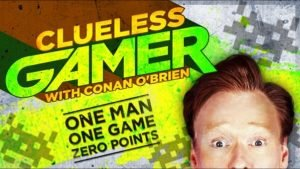 Conan O'Brien takes up reviewing games
