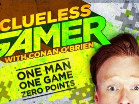 Conan O'Brien takes up reviewing games - 2012-10-01 14:09:42