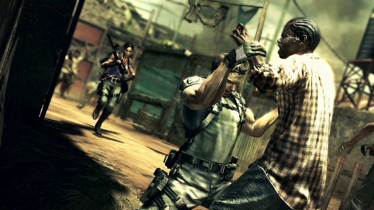 Resident Evil and Non-Scary Zombies - 2012-10-11 17:41:24
