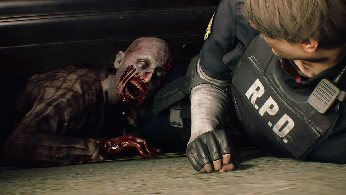 Resident Evil And Non-Scary Zombies 1