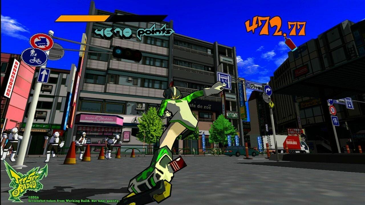Jet Set Radio (Xbox 360) Review