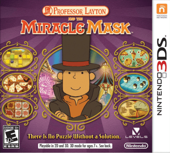 Professor Layton And The Miracle Mask (3DS) Review 2