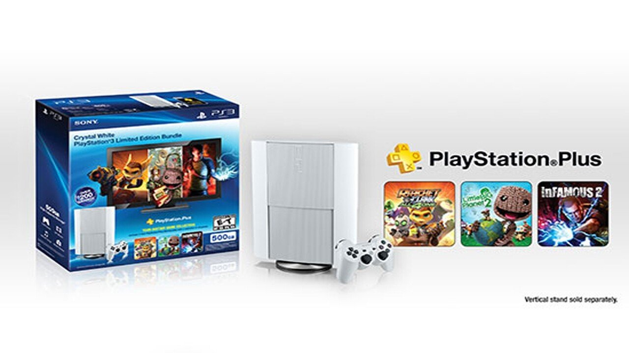 White Playstation Super Slim to be released this month - 2013-01-17 19:04:47