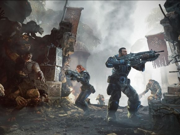 "Microsoft vows ""vigorous action"" after Gears of War: Judgment leak - 2013-02-19 16:44:41"