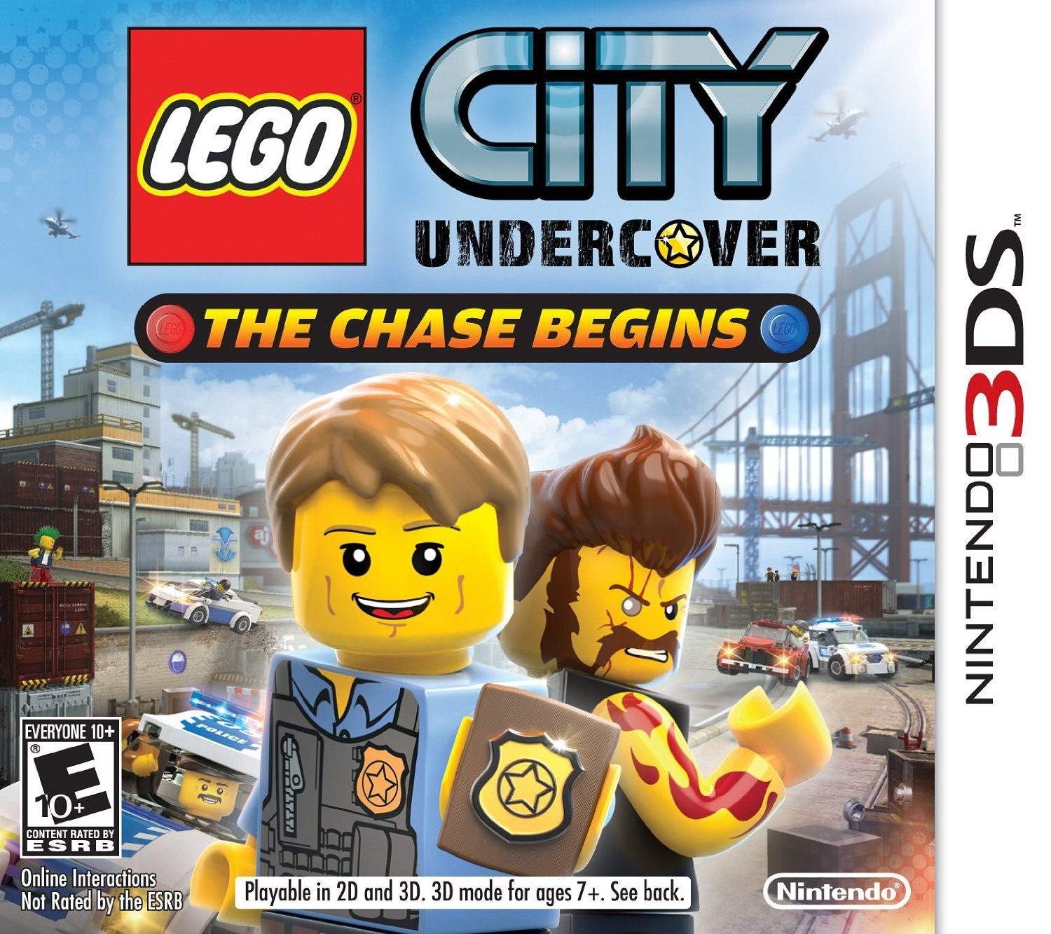 LEGO City Undercover: The Chase Begins (3DS) Review 4