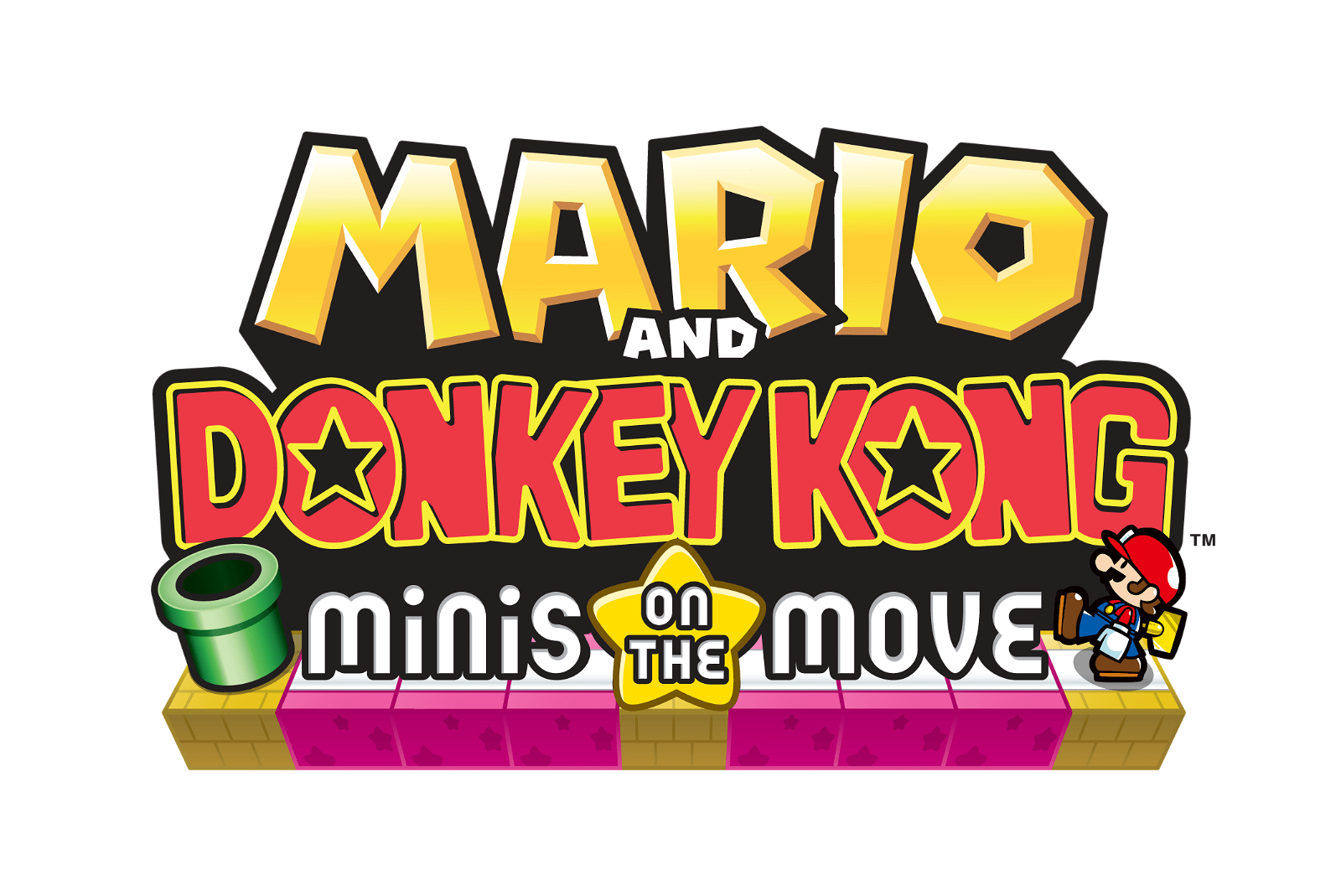 Mario And Donkey Kong: Minis On The Move (3DS) Review 3