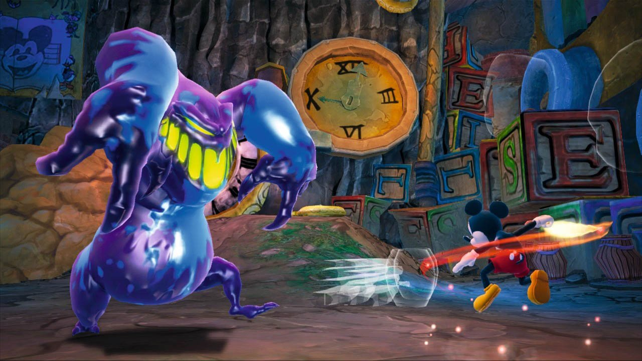 Disney's Epic Mickey (Wii) Review