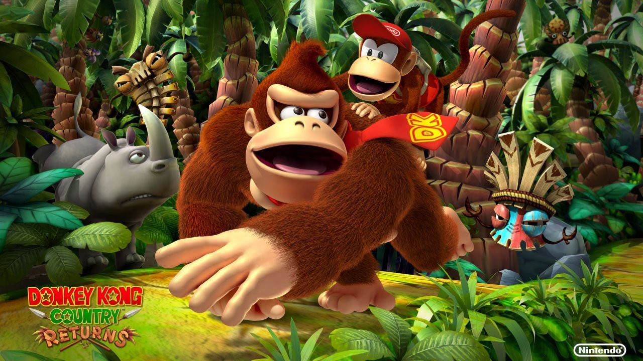 Donkey Kong Country Returns (Wii) Review