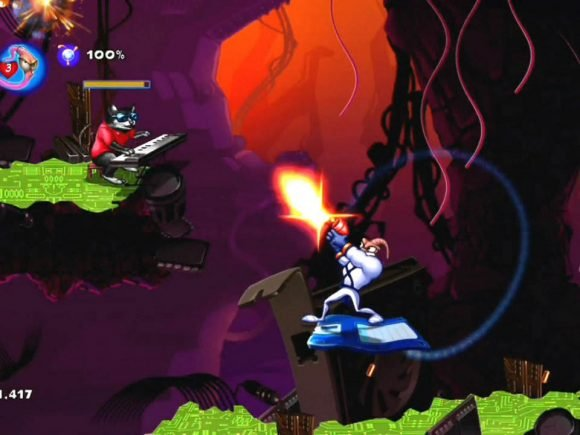 Earthworm Jim HD (XBOX 360) Review 1