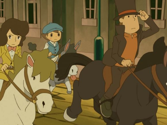 Professor Layton And The Miracle Mask (3DS) Review 1