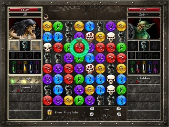 Puzzle Quest 2 (XBOX 360) Review 1
