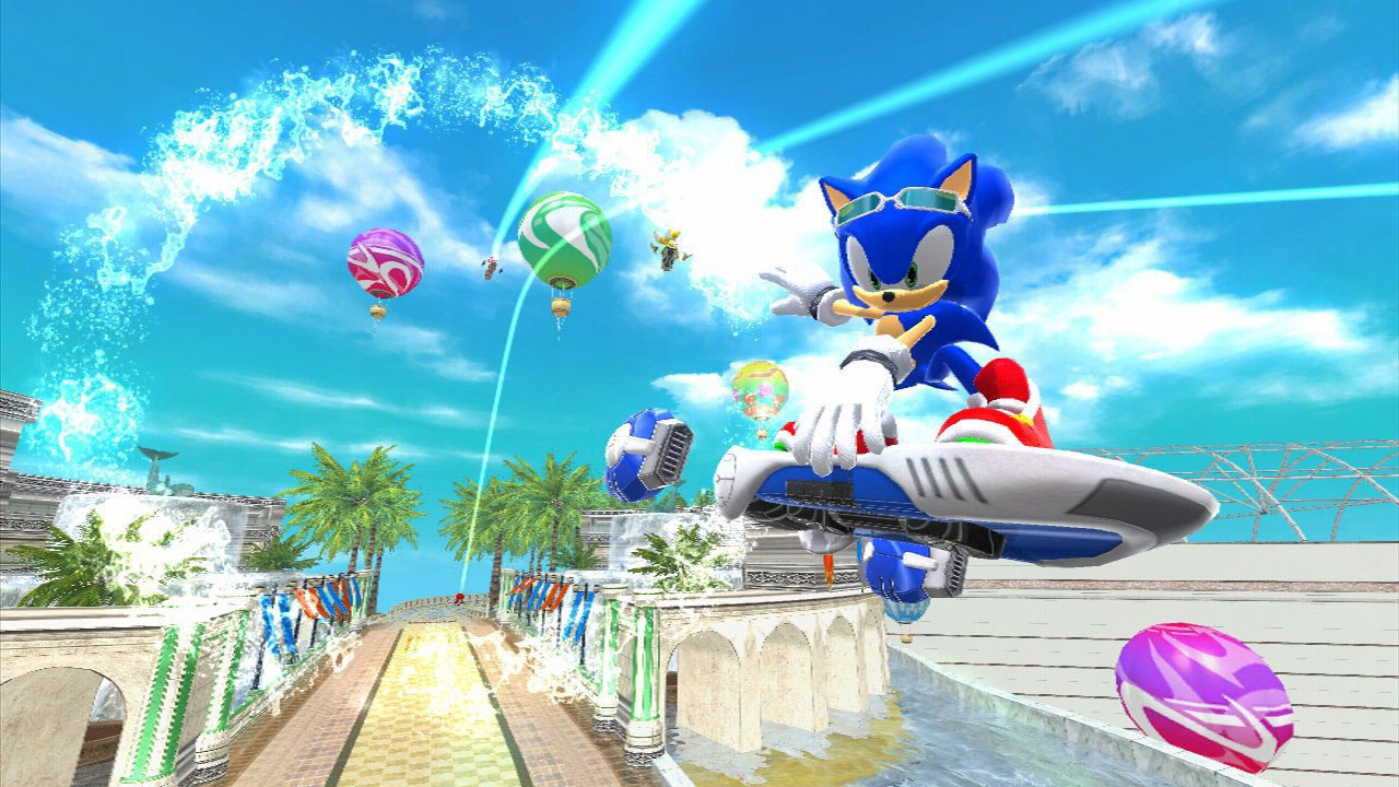 Sonic Free Riders (XBOX 360) Review