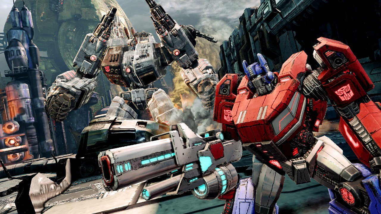 transformers: fall of cybertron ps3 review