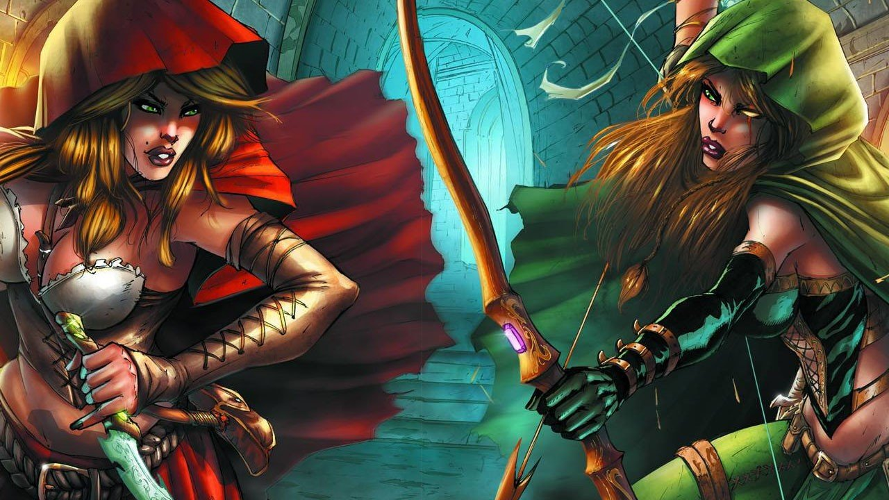 Robyn Hood vs. Red Riding Hood One Shot Review