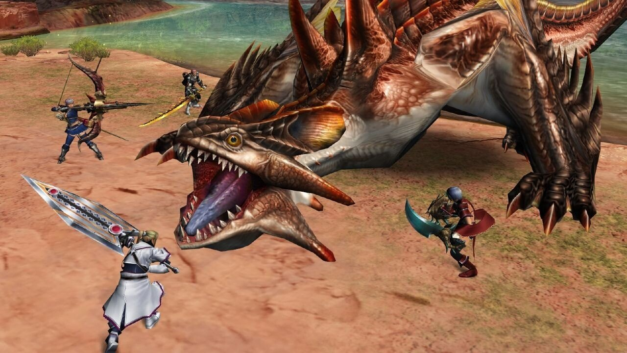 Vita Finally Gets A Monster Hunter Game 1