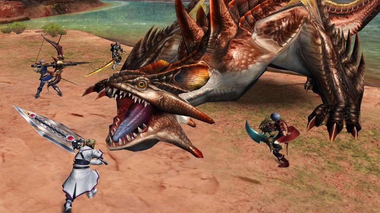Vita Finally Gets A Monster Hunter Game 1