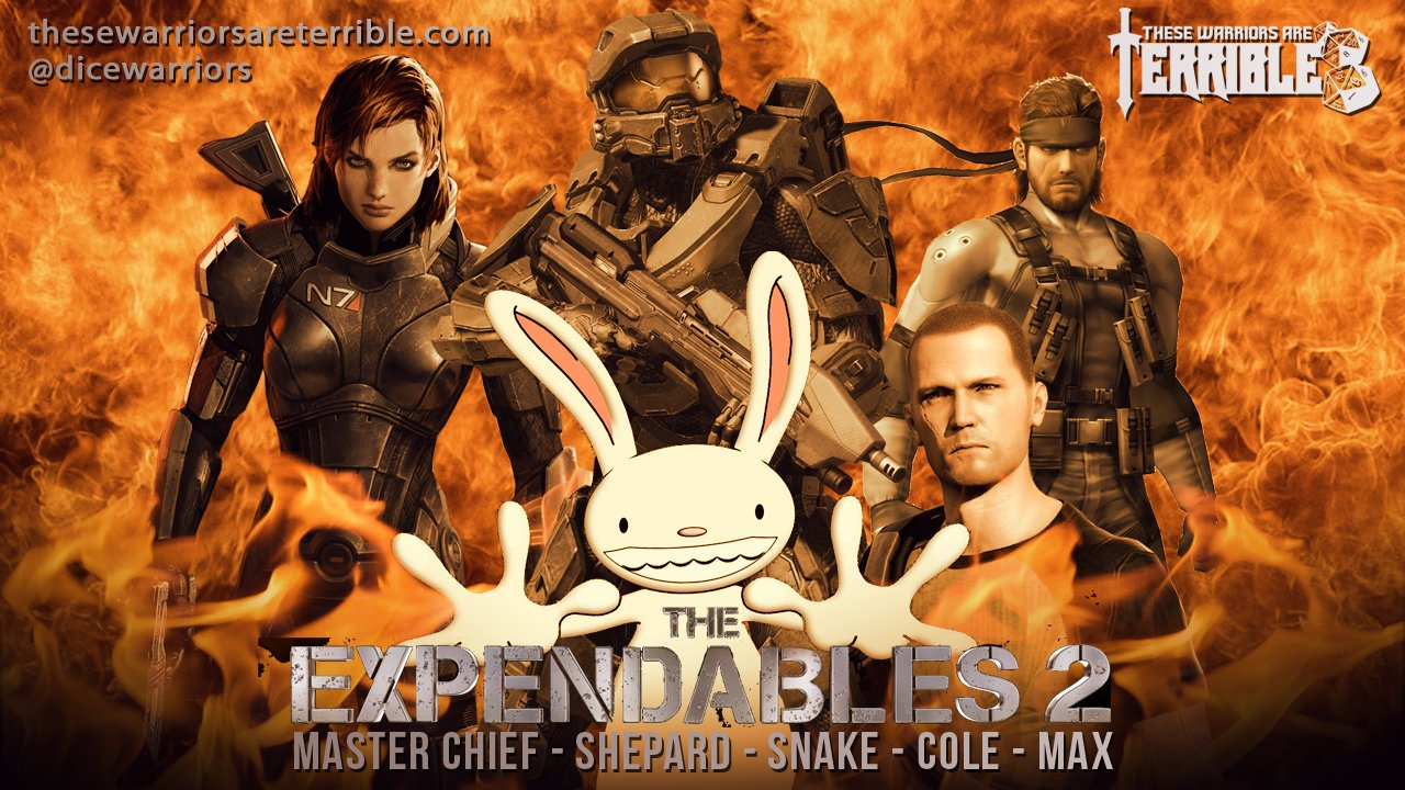 Video Game Expendables 2 - Part 1 - These Warriors Are Terrible