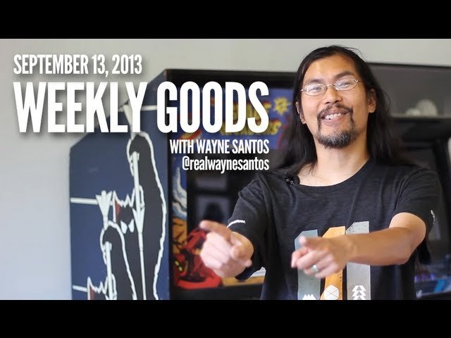 CGM Weekly Goods - Sept 13, 2013
