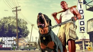 Grand Theft Auto V fastest selling game ever in UK
