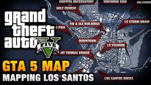 GTA V maps leaked