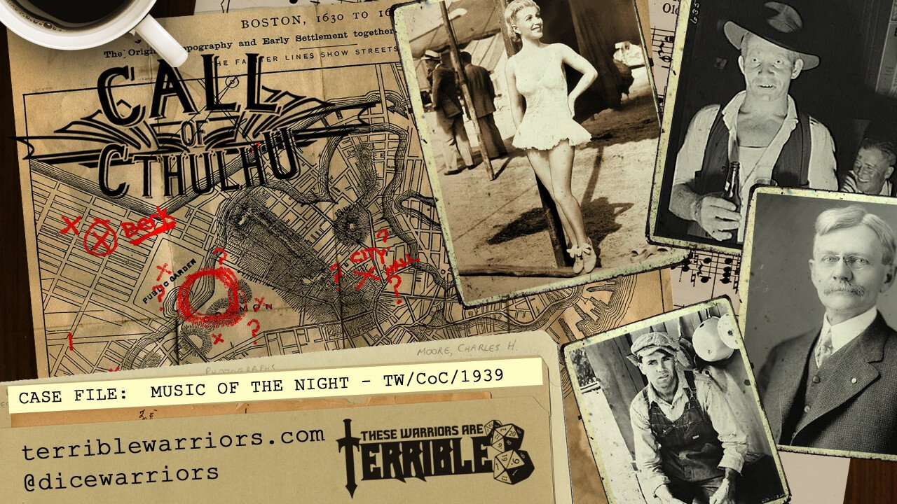 Call of Cthulhu: Music Of The Night - Part 1 - These Warriors Are Terrible