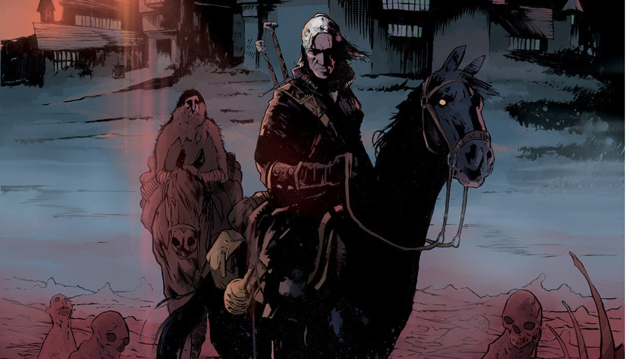 Bloody Debut: The Witcher Takes Over Comics  3