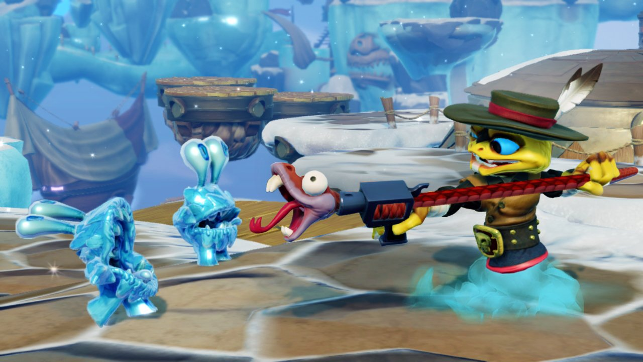 Skylanders SWAP Force - Rattle Shift (Rattle Shake_Night Shift)-noscale