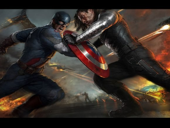 Captain America: Winter Soldier trailer released 2