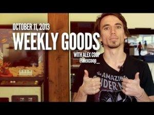 Weekly Goods - Oct 11, 2013