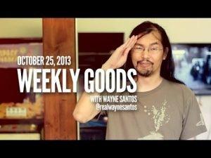 CGM Weekly Goods - Oct 25, 2013