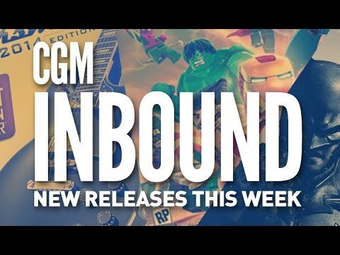 CGM Inbound October 21, 2013: New releases this week - 2015-02-01 15:36:10