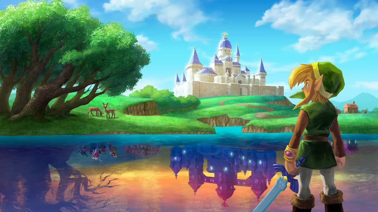 The Legend of Zelda: A Link Between Worlds (3DS) Review: The Legend of Complacency 1
