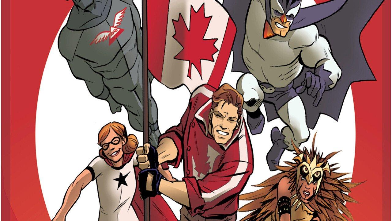 Canadian Super Heroes Unite