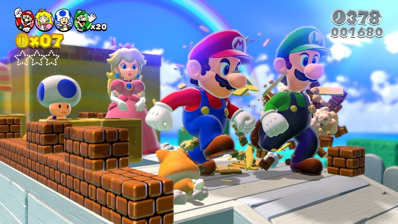 Super Mario 3D World (Wii U) Review: A Giddy Sugar Rush of Childhood Bliss 2