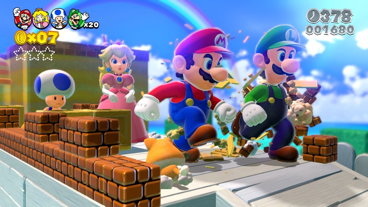 Super Mario 3D World (Wii U) Review: A Giddy Sugar Rush of Childhood Bliss 1