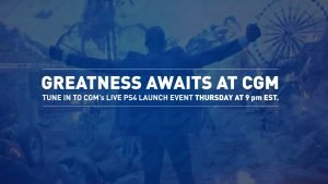 PS4 All Access CGM Livestream: Greatness Awaits 1