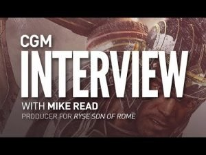 Ryse Son of Rome: From Kinect to Xbox One, Interview with Mike Read. - 2015-02-01 15:27:56