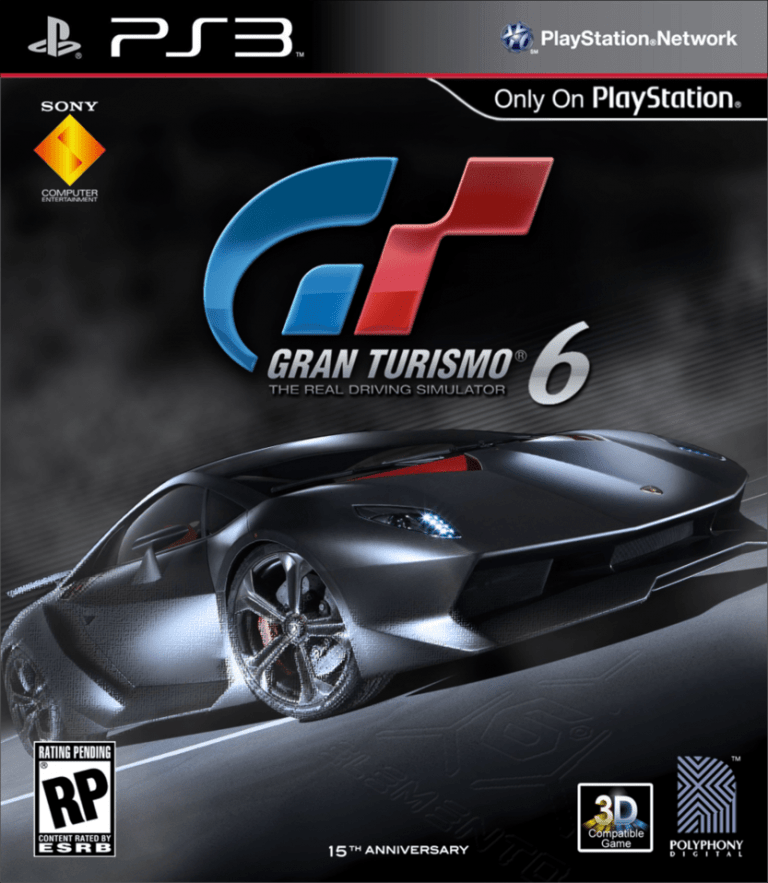 gran turismo 6 blast from the past ps3 review. Black Bedroom Furniture Sets. Home Design Ideas