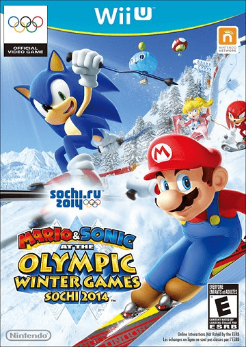 Mario & Sonic At The Olympic Winter Games Sochi 2014  (Wii U) Review 7