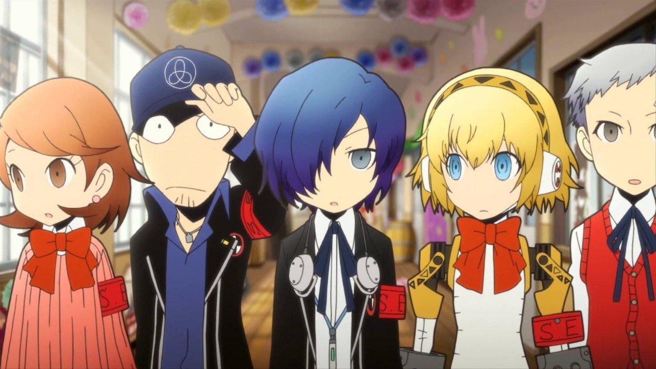 Persona Q Shows Off Yosuke and Mitsuru 1