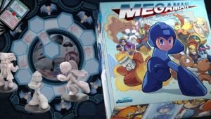 MegaMan Board Game Kickstarter Almost Over